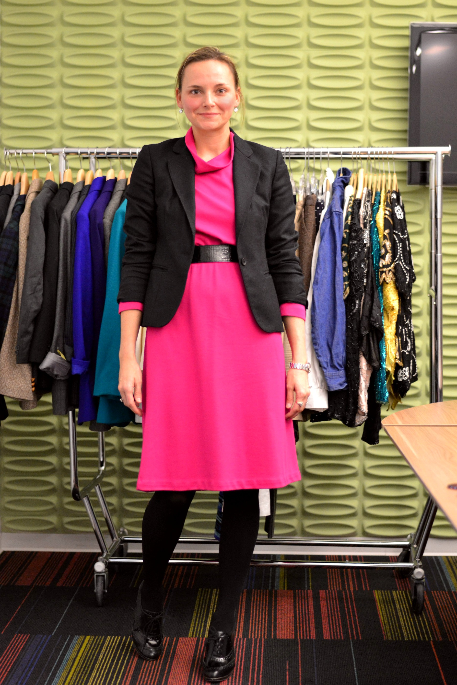 7. Breaking the Rules. There is an idea that the lighter the dress is, the thinner the tights should be, but now there are more and more girls around breaking this principle going for silk guipure dresses with thick black tights in fall.